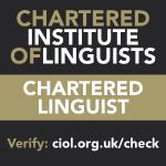 CIOL Chartered Linguist logo